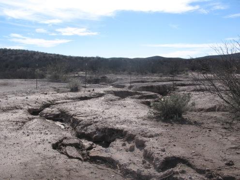 Erosion channels